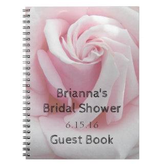 Rose Bloom Bridal Shower Guest Book