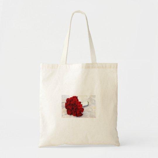 rose bouquet favours tote bag
