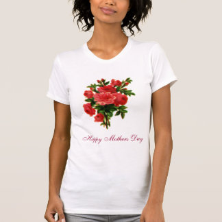 Rose Bouquet Happy Mothers Day Tee Shirts