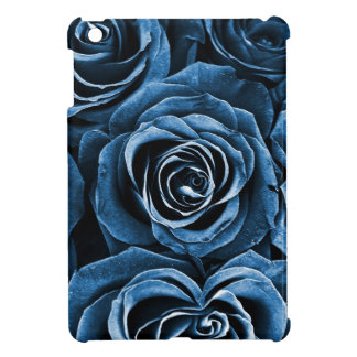 Rose Bouquet in Blue Cover For The iPad Mini