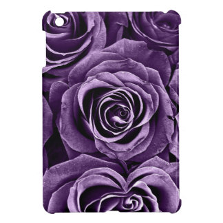 Rose Bouquet in Purple iPad Mini Cover