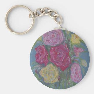 Rose Bouquet Keychain