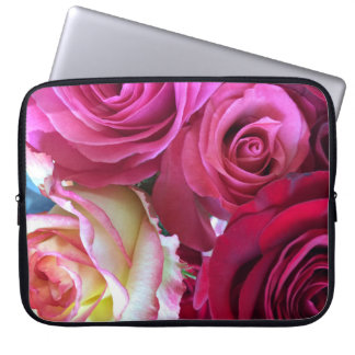Rose Bouquet laptop sleeve