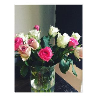 Rose Bouquet Letterhead