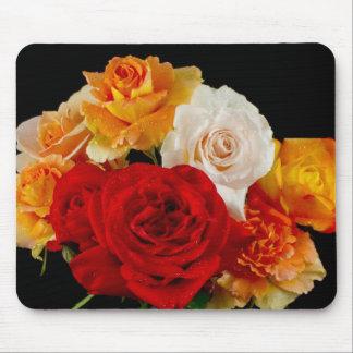 Rose Bouquet Mouse Pad