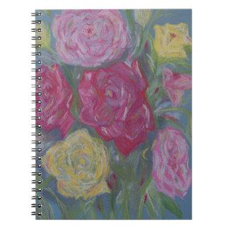 Rose Bouquet Notebook
