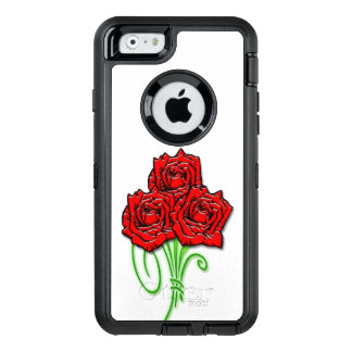 Rose bouquet OtterBox defender iPhone case