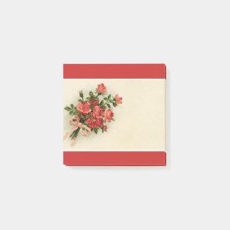 Rose Bouquet Post-it Notes
