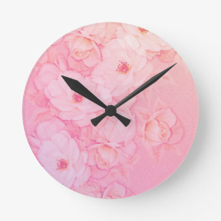Rose Bride Wall Clock