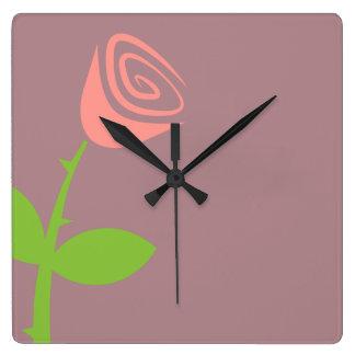 Rose Bud Clocks