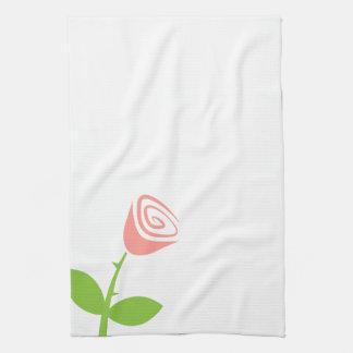Rose Bud Kitchen Towel