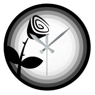 Rose Bud Large Clock