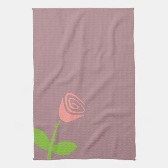 Rose Bud Towels