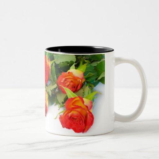 Rose Buds Coffee Mugs