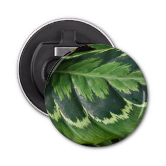 Rose Calathea Magnetic Bottle Opener