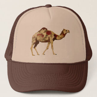 Rose Camel  Lid Trucker Hat