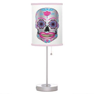 Rose Candy Skull Lamp