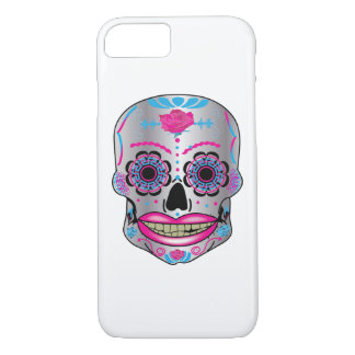 Rose Candy Skull Phone Case