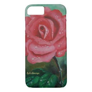 Rose 🌹 Case Premium Painting iPhone 8/7