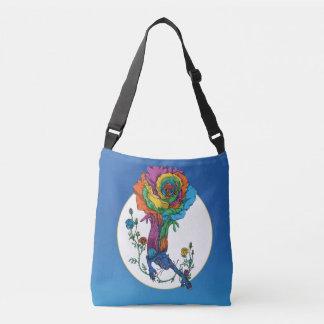 Rose Cat Crossbody Bag