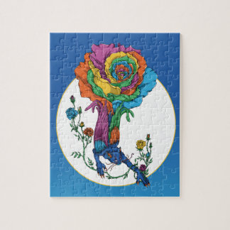 Rose Cat Jigsaw Puzzle