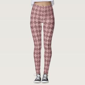 Rose Checkered Leggings
