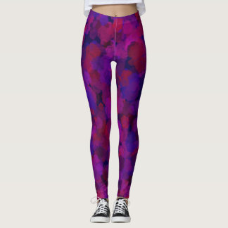 Rose Collage Leggings