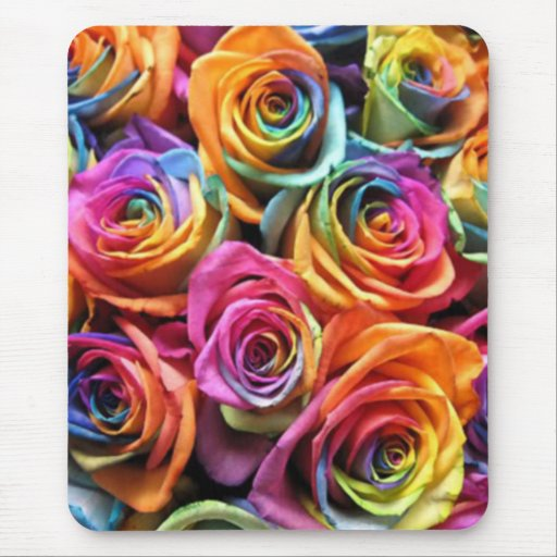 Rose Collage Mousepads