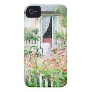 Rose Cottage iPhone 4 Cases