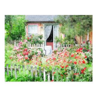 Rose Cottage Postcard