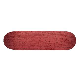 Rose Crackle Texture Custom Skateboard