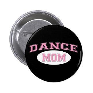 rose de maman de danse pour le noir badge