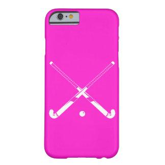 rose de silhouette d'hockey de gisement de cas de  coque iPhone 6 barely there