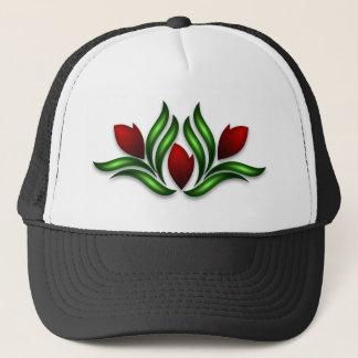 Rose Design Trucker Hat