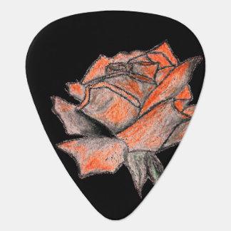 Rose Designer Guitar Pick