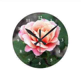 Rose Distant Drums Clock