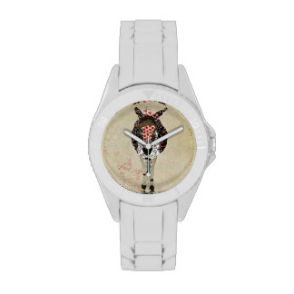 Rose Donkey Watch