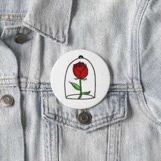 Rose Doodle Button | beautiful doodle