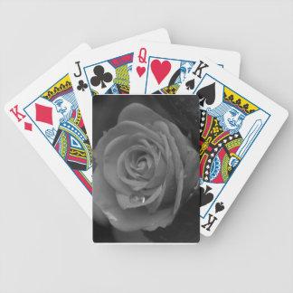 Rose Drop Bicycle Playing Cards