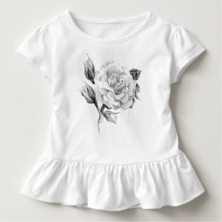 Rose. Elegant floral stylish rustic vintage image Toddler T-shirt