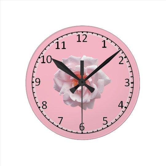 Rose emoji clock