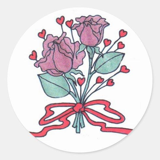 Rose Envelope Seals