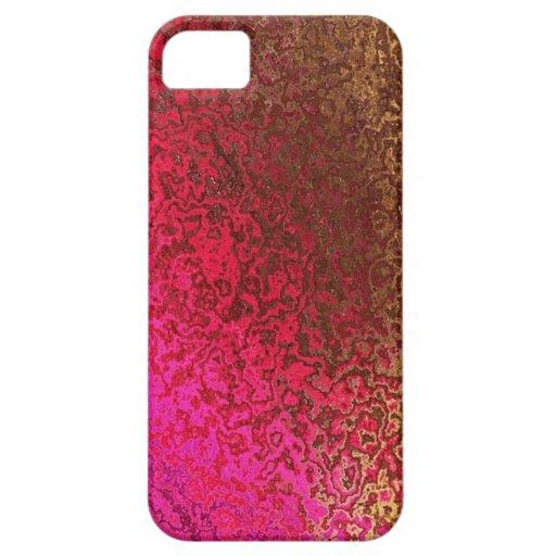 Rose et cas de l'iphone 5 de miroitement d'or coques iPhone 5