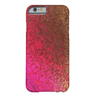 Rose et cas de l'iPhone 6 de miroitement d'or Coque Barely There iPhone 6