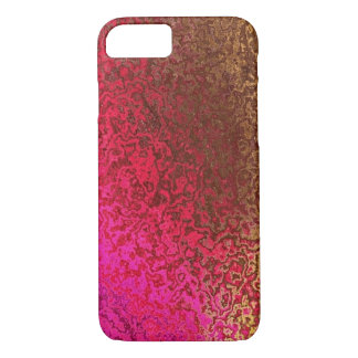 Rose et cas de l'iPhone 7 de miroitement d'or Coque iPhone 7