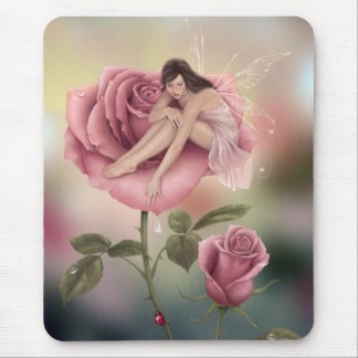 Rose Fairy Mousepad