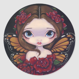 """Rose Fairy"" Sticker"