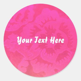 """Rose Fantasy"" Sticker template"