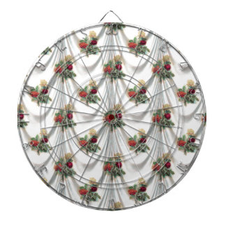 rose Floral, Art, Design, Beautiful, New, Fashion Dartboard