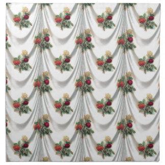 rose Floral, Art, Design, Beautiful, New, Fashion Napkin
